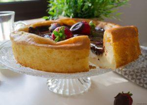 Pastís de Formatge i xocolata