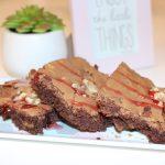 Brownie de xocolata sense gluten